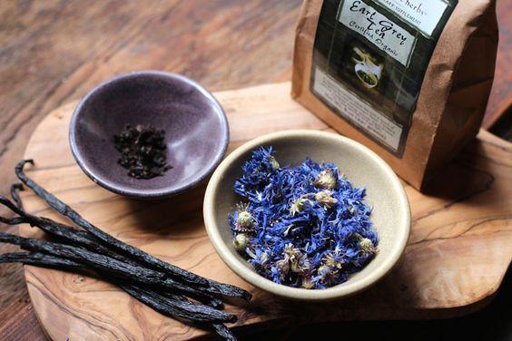 Vanilla Earl Grey with Cornflowers Recipe