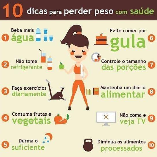 dicas de alimentação saudável para perder peso