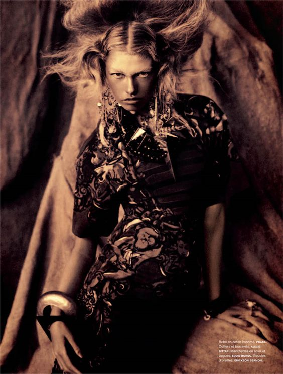 Hailey Clauson Photographed by Sebastian Kim magazine Numéro #124