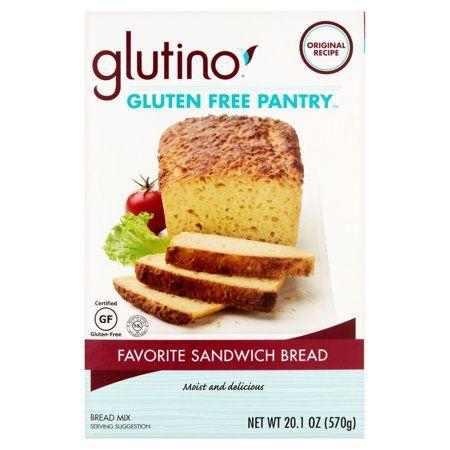 Glutino Gluten Free Pantry Favorite Sandwich Bread Mix 20 1 Oz