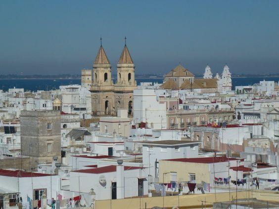 Fotos panorámicas de Cádiz - España