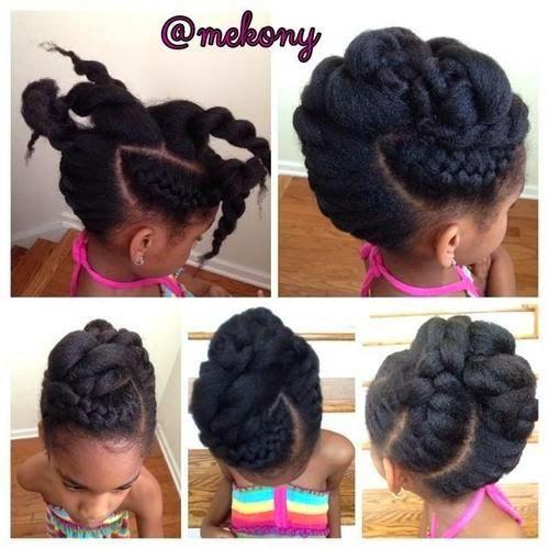 Idées de coiffure sur les cheveux crépus: