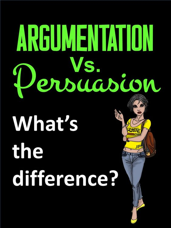 90-second video: Argumentation and Persuasion are NOT the same thing!