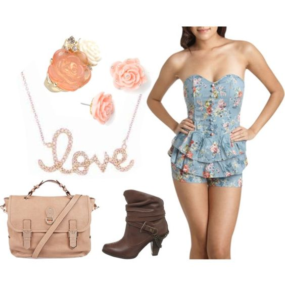 """Floral Fantasy"" by wonderland449 on Polyvore"
