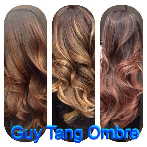 Cinnamon, Beach Sand, Rose Gold Ombre collection by Guy Tang