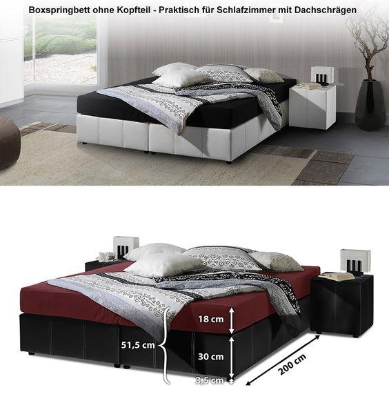 Boxspringliege  - schlafzimmer mit boxspringbetten schlafkultur und schlafkomfort