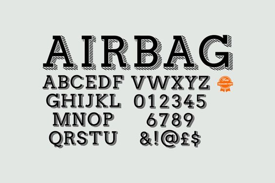 fuente gratuita airbag 10 fuentes gratuitas para titulares · miographic