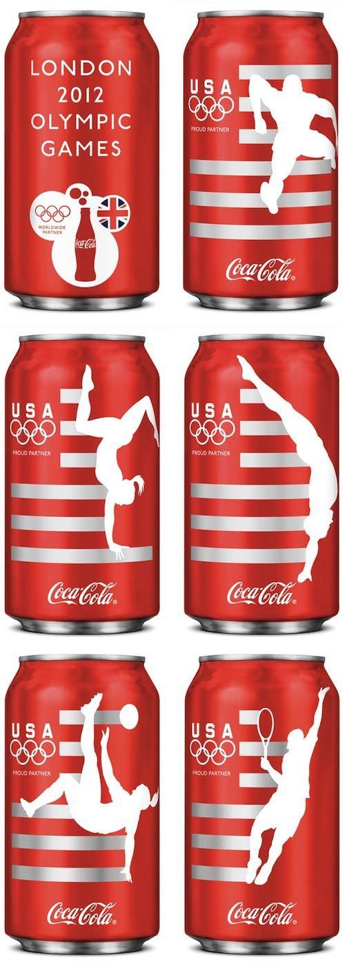 Coca-Cola – Limited Edition London Olympic Packaging For Team USA
