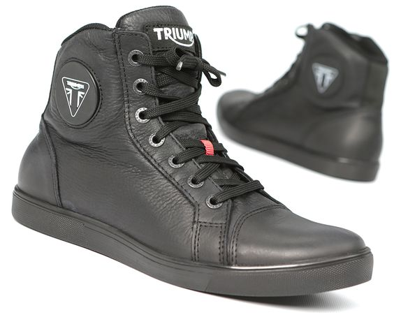 Triumph's Unisex Urbane Boots deliver comfort, style and protection while riding or relaxing. Find them at shop.triumphmotorcycles.com (Canada: shop.triumph-motorcycles.ca) and at your Triumph dealer. #Boots #Gear