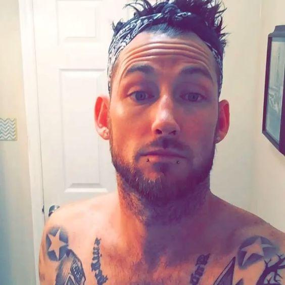 #tattoo#ink#shower#healed#aquaphor#black#bandanna#sunday