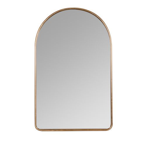 Cooper Classics 41751 Sebastian 38 In Arched Wall Mirror Black White Transitional Bellacor Gold Antique