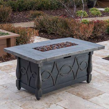 Veranda Classics™ Serenity Propane Fire Pit Table
