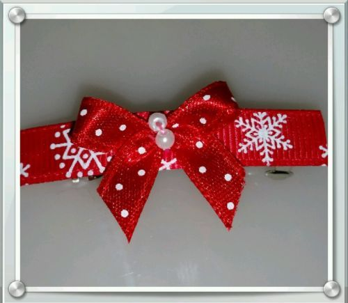 Festive Red Barette Style Clip in Clothes, Shoes & Accessories   eBay