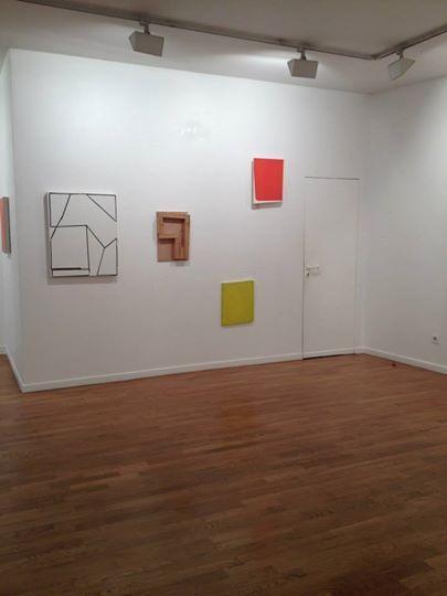 Katrin Bremermann Artist Paintings Exhibition Galerie Vidal-Saint Phalle Paris France
