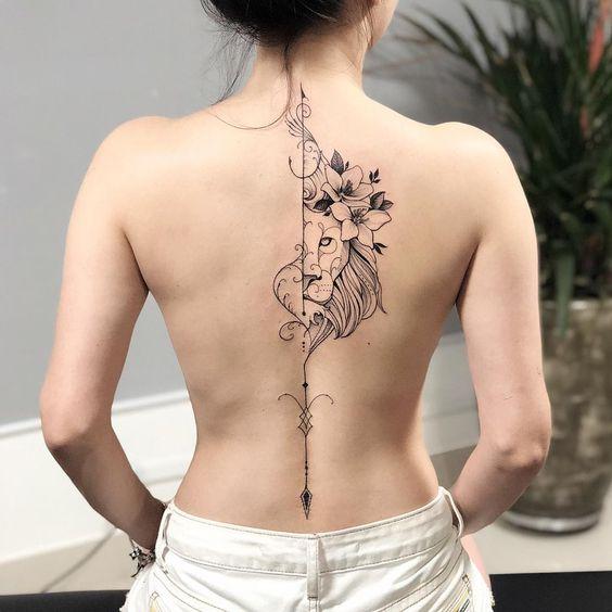 Obrigado por aguentar firme até o final @thainemarot   Tatuagem no pescoço  masculino, Idéias de tatuagem femininas, Tatuagem ohana