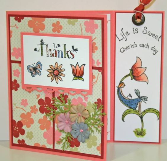 Life is Sweet Bookmark & Card