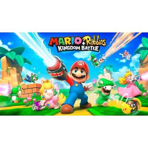 Mario Rabbids Kingdom Battle Nintendo Switch 107950 Best Buy Nintendo Jogos De Video Game Nintendo Switch