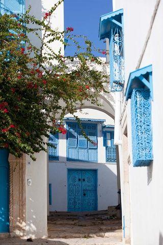 Sidi Bou Said (Túnez):