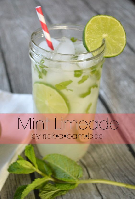 This Cafe Rio mint limeade copycat is delicious!  Just like the real thing, except better because you can enjoy it at your home. | #mint #lime