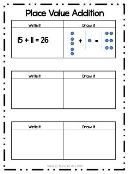 Number Names Worksheets double digit addition and subtraction without regrouping : Addition and subtraction on Pinterest