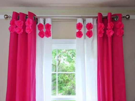 curtain for girl's room - Google Search | Ideas for Aubree's Room ...