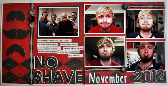No Shave November-  by Julie Leonhardt @ Random Memories