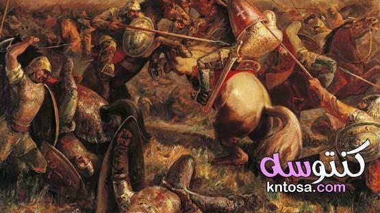 حروب اوروبا في العصور الوسطى Painting Art