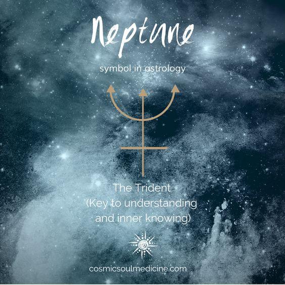 Neptune Symbol in Astrology #astrology #neptune #symbols #neptunesymbol #astrologysymbol