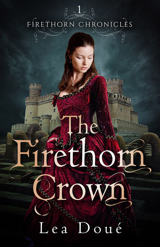 Firethorn Crown by Lea Doue: