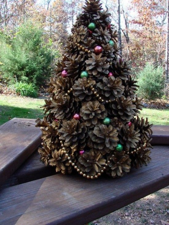 Beautiful Christmas Trees Enrich And Add An Aesthetic Appearance Or Theme To Your Christmas Adorn Christmas Cones Pine Cone Christmas Tree Cone Christmas Trees