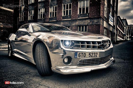 Shiny Camaro!