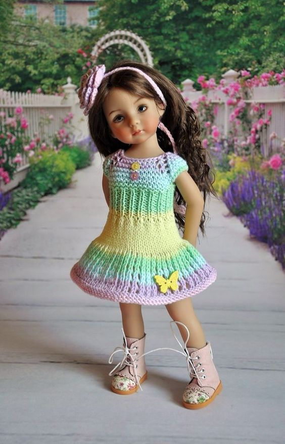 OOAK OUTFIT FOR DOLLS Little Darlings Effner 13: