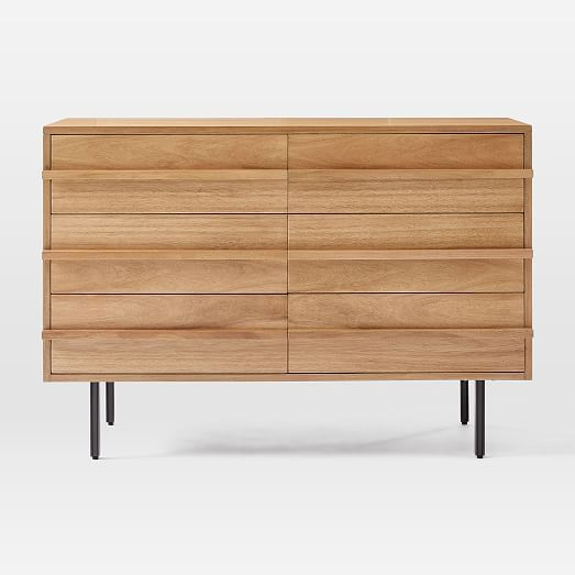 Modernist Wood Lacquer 3 Drawer Dresser Winter Wood In 2020 Scandinavian Dresser Dresser Drawers Wooden Drawers