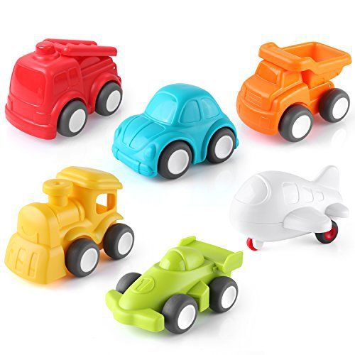 Pedy Car Toys 6 Pack Toddler Toys Vehicles Push And Go Cars Vehicles Baby Toy Car For 1 2 Year Old Boys Girls The Fnu Company Baby Car Toy Cheap Toddler Toys Toddler Toys