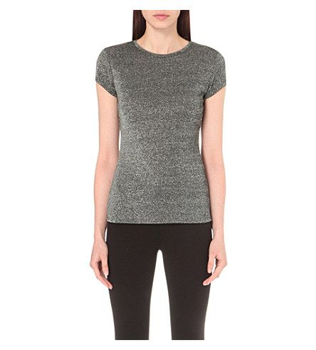 TED BAKER Misy Metallic T-Shirt. #tedbaker #cloth #tops