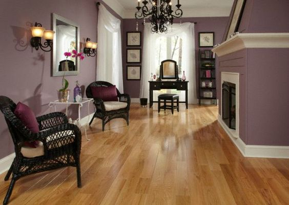 Natural Red Red Oak And Purple On Pinterest