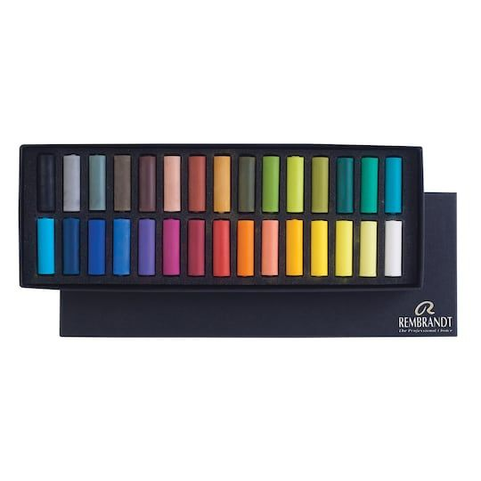 Rembrandt Pastel 30 Color Half Stick Set Michaels Rembrandt