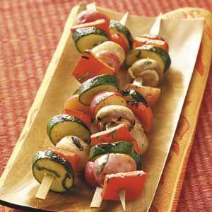 Just Delish Veggie Kabobs Recipe