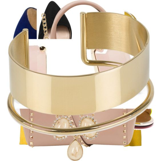 Sailing sands by conniestanley on Polyvore featuring polyvore, fashion, style, Oasis, Chanel, H&M, Christian Louboutin, Tory Burch, Joe's Jeans, Valentino, By Malene Birger and Kate Spade