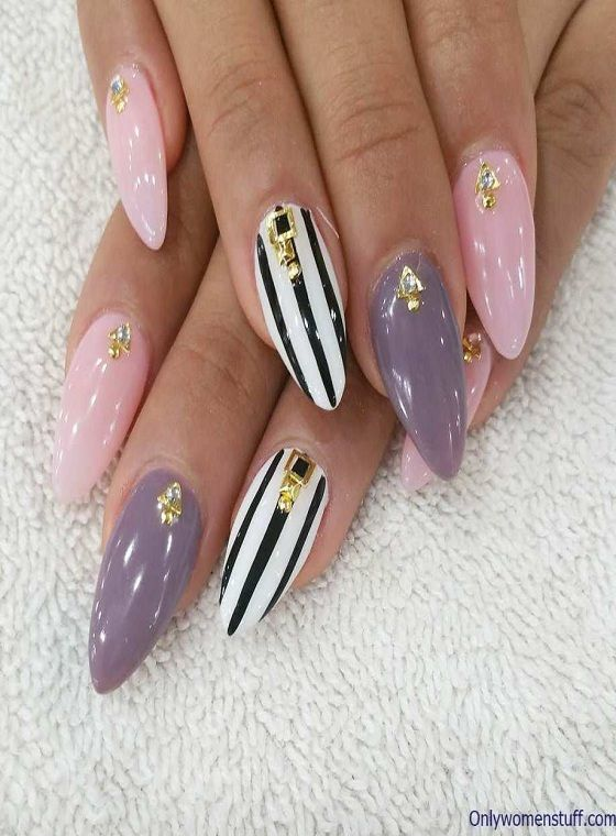 204 Cool Acrylic Nail Art Designs And Ideas Fancy Nail Art Simple Gel Nail Designs Fancy Nails Designs