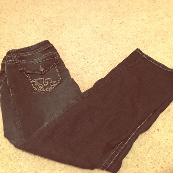 Boot cut Jeans Pre-Loved ❤️ dark wash - size 10 short a.n.a Jeans Boot Cut