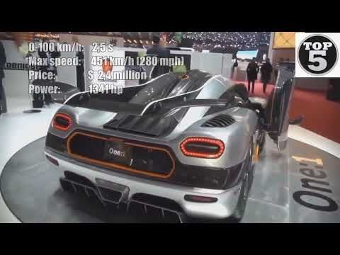 Top 5 Fastest Cars >> Top 5 4 Fastest Cars In The World 2019 Beautiful Cars Fh