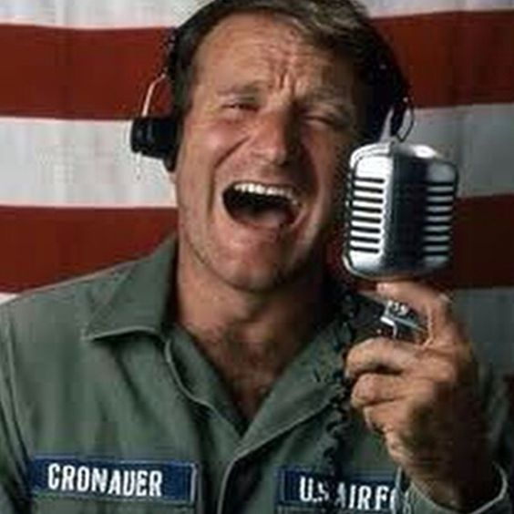 """Good Morning Vietnam"" 1987"
