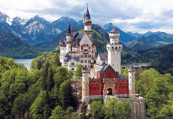 Замок Нойшванштайн, Баварія, Німеччина