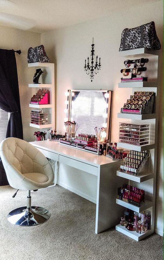 My dream makeup area: