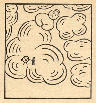 ritz Der Wolkenfahrer (Fritz The Cloud Driver), Karl Behrens and Franz Kiesewetter, Hermann Schaffstein Verlag, Cologne, no date (1948 or 1950?)