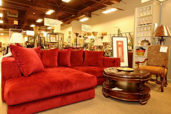 Red Corduroy Sectional Colleen 39 S Classic Consignment Las Vegas Nv Favorite Stores
