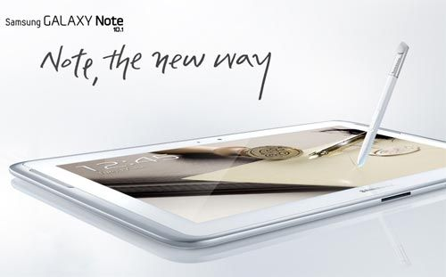 Samsung Galaxy Note tablet launched