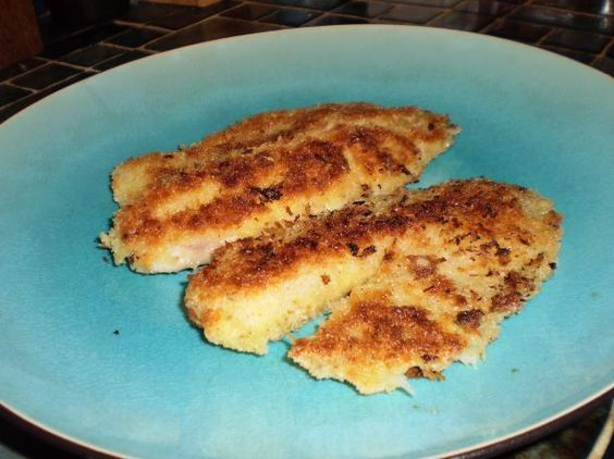 Tilapia recipes lemon pepper and fish on pinterest for Fried fish with bread crumbs