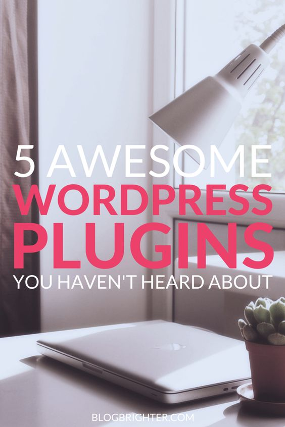 5 Awesome WordPress Plugins You Haven't Heard About - WordPress plugins to take your blog to the next level. Add functionality to your blog including pin it buttons (that work!), social media scheduling, and instagram integration | blogbrighter.com